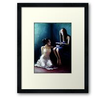 The Letter Framed Print