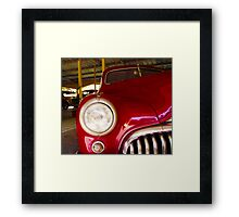 1947, BUICK Eight Super, USA Saloon - 2 Framed Print