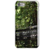 Pfeiffer Falls -- Bridge iPhone Case/Skin