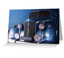 1938, Packard (Limo), USA, SEDAN  Greeting Card