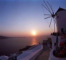 Sunset by FOTIS MAVROUDAKIS