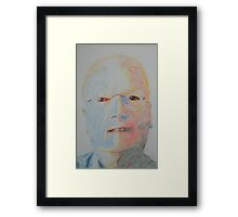 The Outer Face Framed Print