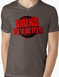 Sirens Do It Better (red) Mens V-Neck T-Shirt