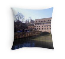Heilig Geist Spital, Nürngerg, Germany. Throw Pillow