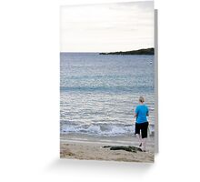 Those days by the water... Greeting Card