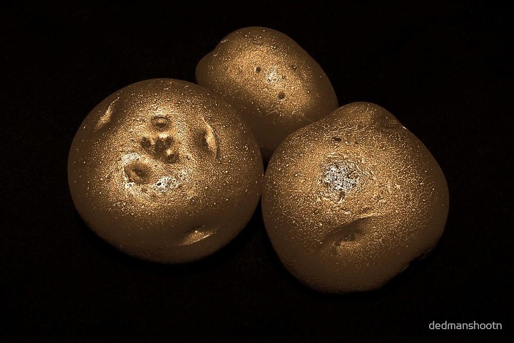 potato trio: gold by dedmanshootn