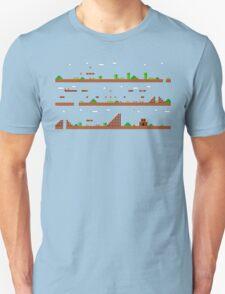 Super Mario Bros World 1-1 T-Shirt