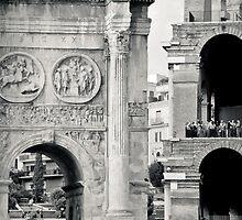 Il Mito di Roma - Arco di Costantino e Colosseo (2 / 15) by Giulio Menna