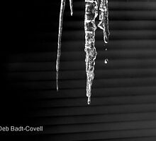 Liquid Emotion - Black and White by Deb  Badt-Covell