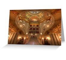 Architectural Treasure Greeting Card
