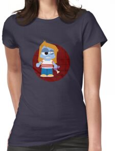 Zombie Girl Womens Fitted T-Shirt