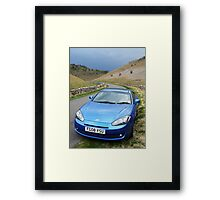 Long & Winding Road Framed Print