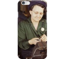 War Effort - Machine Parts iPhone Case/Skin