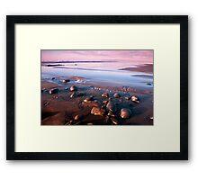 Blue Horizon - Westward Ho Framed Print