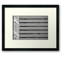Il Mito di Roma - Stazione Termini (9 / 15) Framed Print