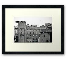 Il Mito di Roma - Tempio di Apollo Sosiano (10 / 15) Framed Print