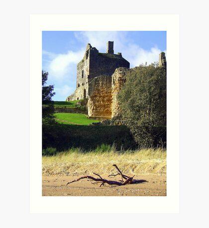 Ravenscraig Castle Art Print