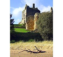 Ravenscraig Castle Photographic Print