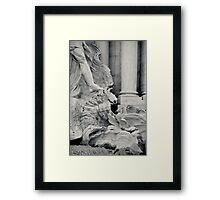 Il Mito di Roma - Fontana di Trevi (12 / 15) Framed Print