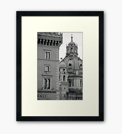 Il Mito di Roma - Piazza Venezia (14 / 15) Framed Print