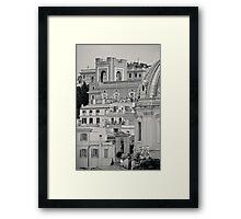 Il Mito di Roma - Chiesa del Santissimo Nome di Maria al Foro Traiano (15 / 15) Framed Print