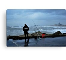 So much for toughness! Canvas Print