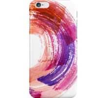 Abstract Watercolor Stroke  iPhone Case/Skin