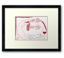 Lilac Wine Framed Print
