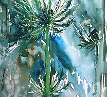 Sea Holly by Rebecca Yoxall