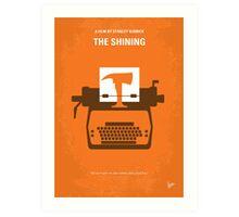 No094 My The Shining minimal movie poster Art Print