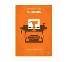 No094 My The Shining minimal movie poster Art Print