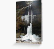 Frozen In Prayer Greeting Card