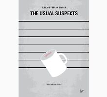 No095 My The usual suspects minimal movie poster T-Shirt