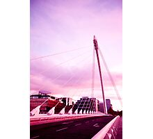 Samuel Beckett Bridge Photographic Print