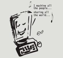 Imagine - John Lennon - Funny T-shirt by Denis Marsili - DDTK