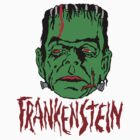 Mani-Yack Frankenstein Sticker by monsterfink