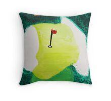 My Favorite Golf Hole! Throw Pillow
