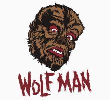 Mani-Yack Wolf Man Sticker by monsterfink