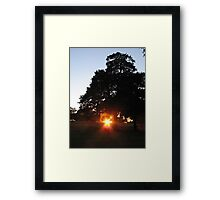 Star set Framed Print