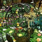Tiger Wildflower Cave Pool by Wyldspace
