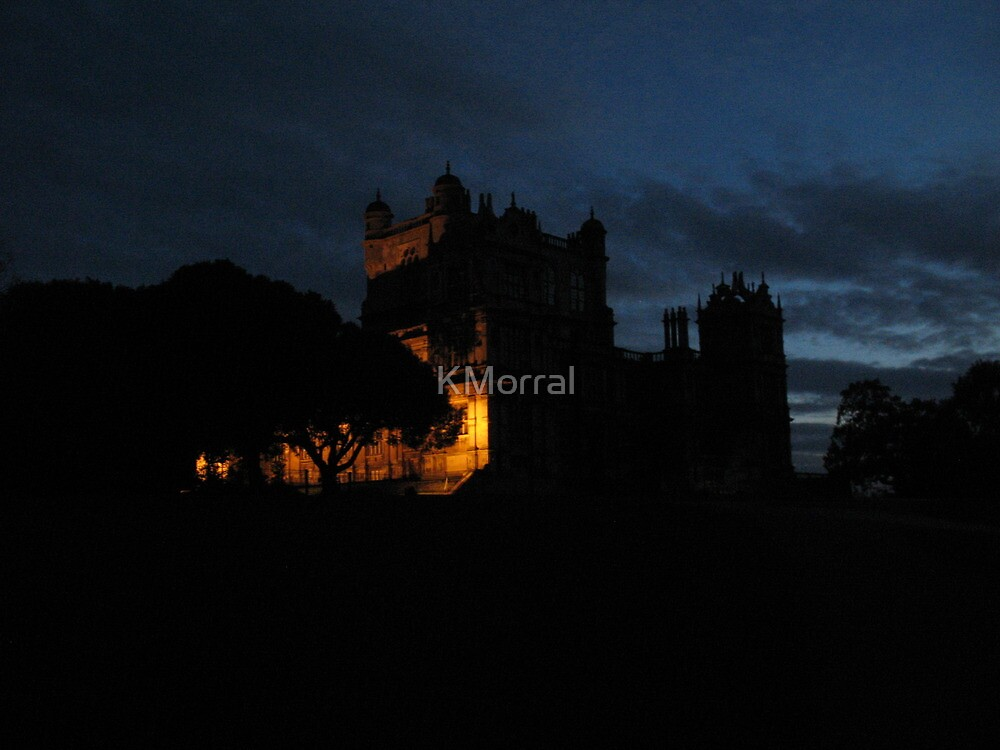 Wollaton  Hall by light by KMorral