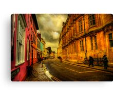 Oxford Streets Canvas Print