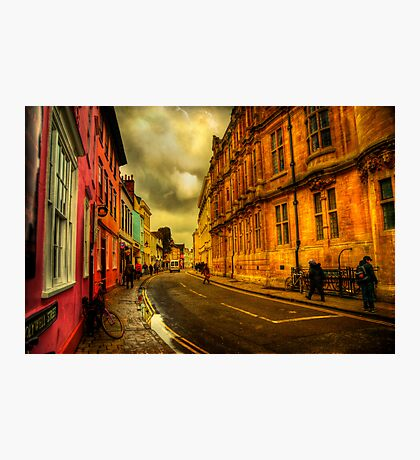Oxford Streets Photographic Print
