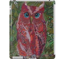 Red Owl iPad Case/Skin