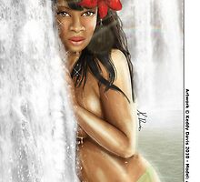 Paradise Falls by Keddy Davis