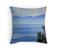 Misty Morning, Tahoe Throw Pillow