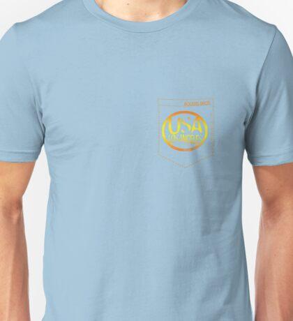 usa los angeles orange tshirt by rogers bros co Unisex T-Shirt