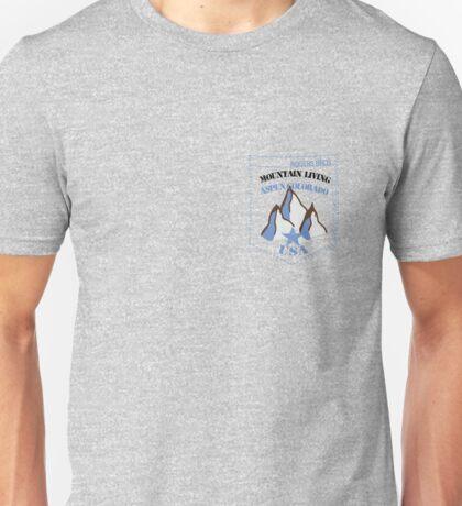 usa aspen tshirt by rogers bros Unisex T-Shirt