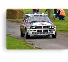 Lancia Delta Integrale Canvas Print