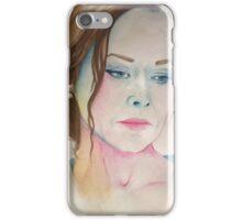 Amanda Mealing Watercolour iPhone Case/Skin